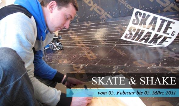 Vernissage der Wanderausstellung Skate & Shake in Weimar