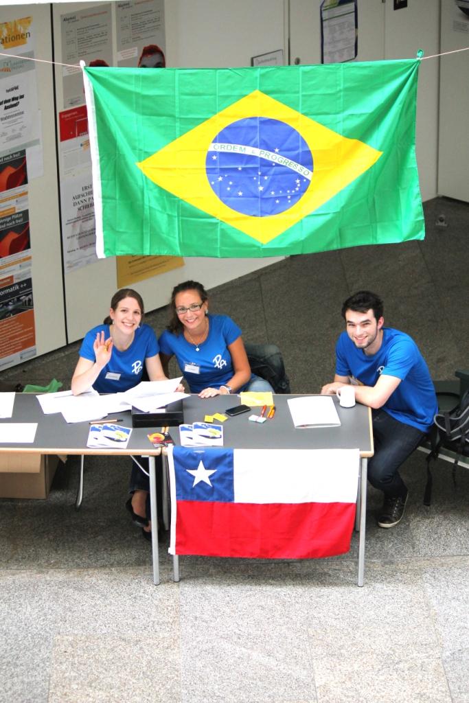 Chile und Brasilien an einem Tisch ©Thomas Maluck