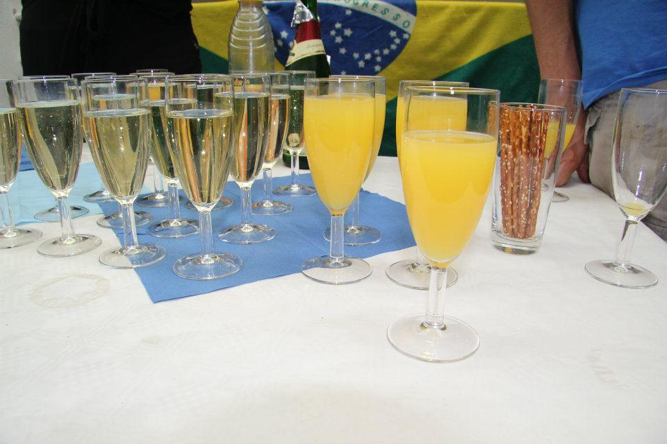 Für Getränke ist gesorgt ©PassauerLateinAmerikagespräche