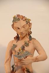 sculpture en terre cuite