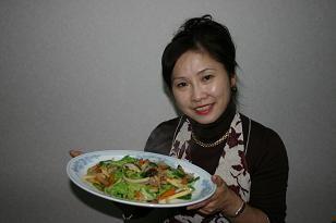 野菜炒めは水が出ない工夫をしたレシピです