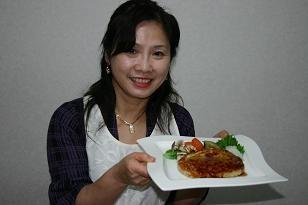 アジア大会のレシピ豆腐ハンバーグ