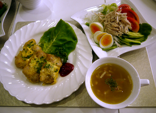 家庭料理コース前半