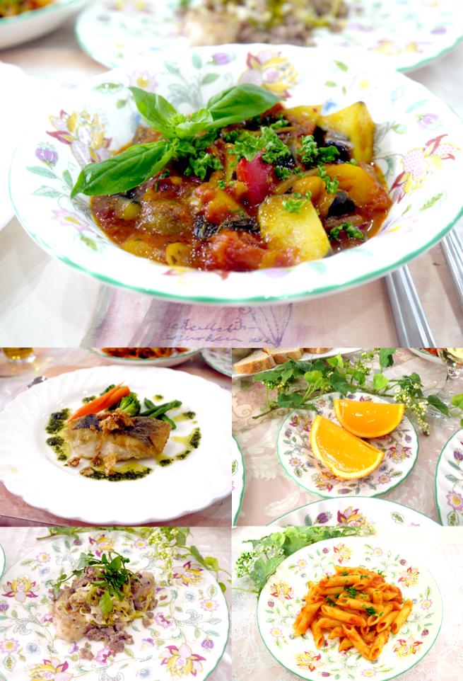 世界の料理コース