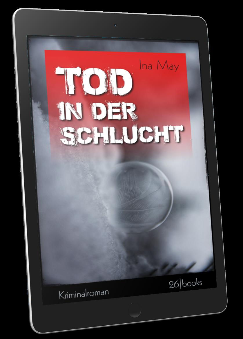 """Cover """"Tod in der Schlucht"""""""