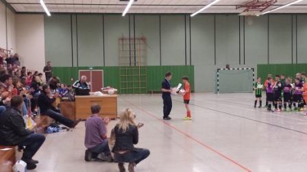 Jan Verhaaren bei der Siegerehrung