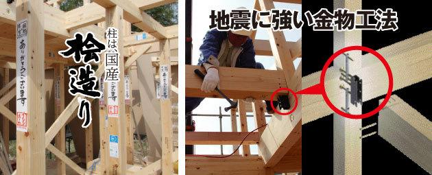 地震に強い金物工法
