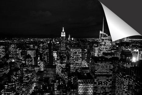 Zwart New York  Inductie Beschermer