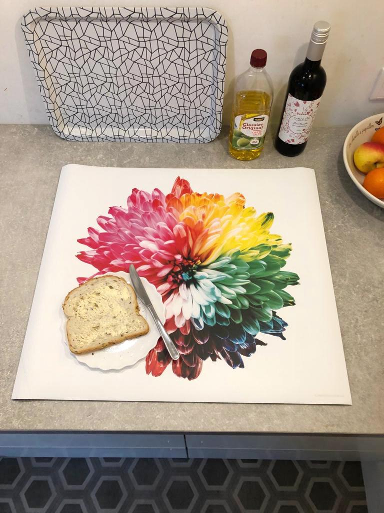 """""""Ik wilde kleur in onze keuken!"""""""