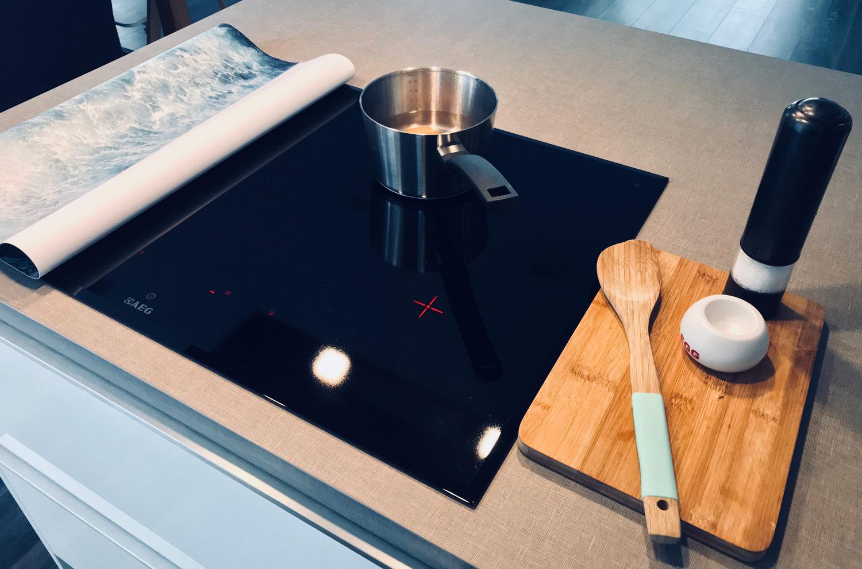 Je kookplaat blijft mooi schoon!