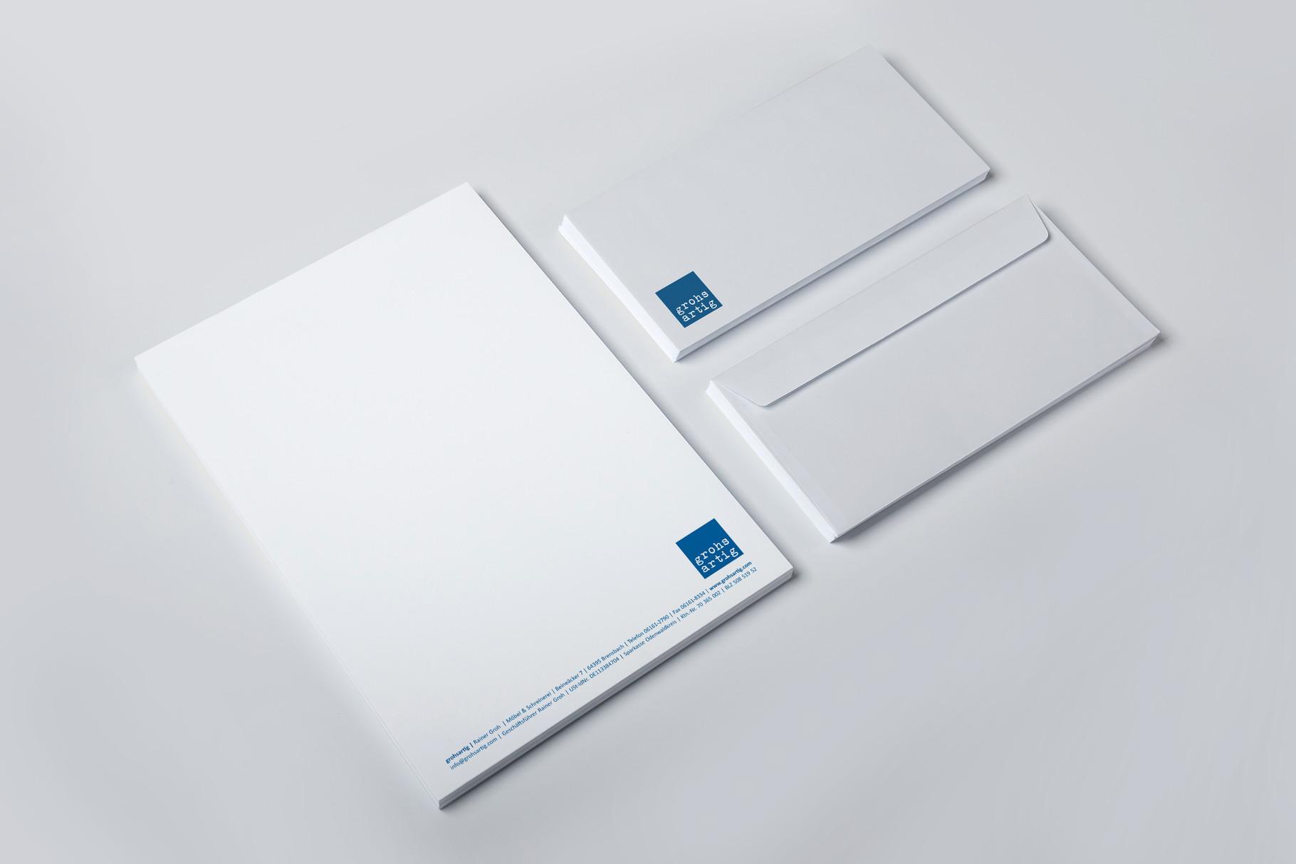 Logo, Logoentwicklung, Grafikdesign, Grafik, Gestaltung, Illustration, Grohsartig Geschäftsausstattung