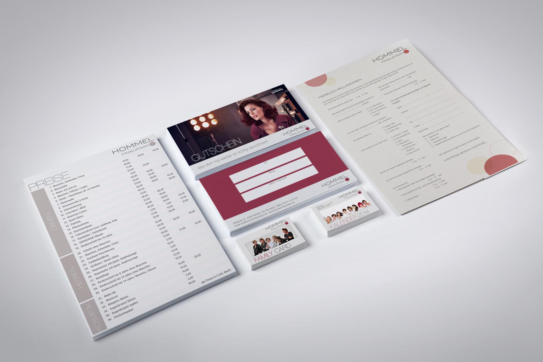 Corporate Design, Logoentwicklung, Logo, Grafikdesign, Grafik, Gestaltung, Hommel Geschäftsausstattung
