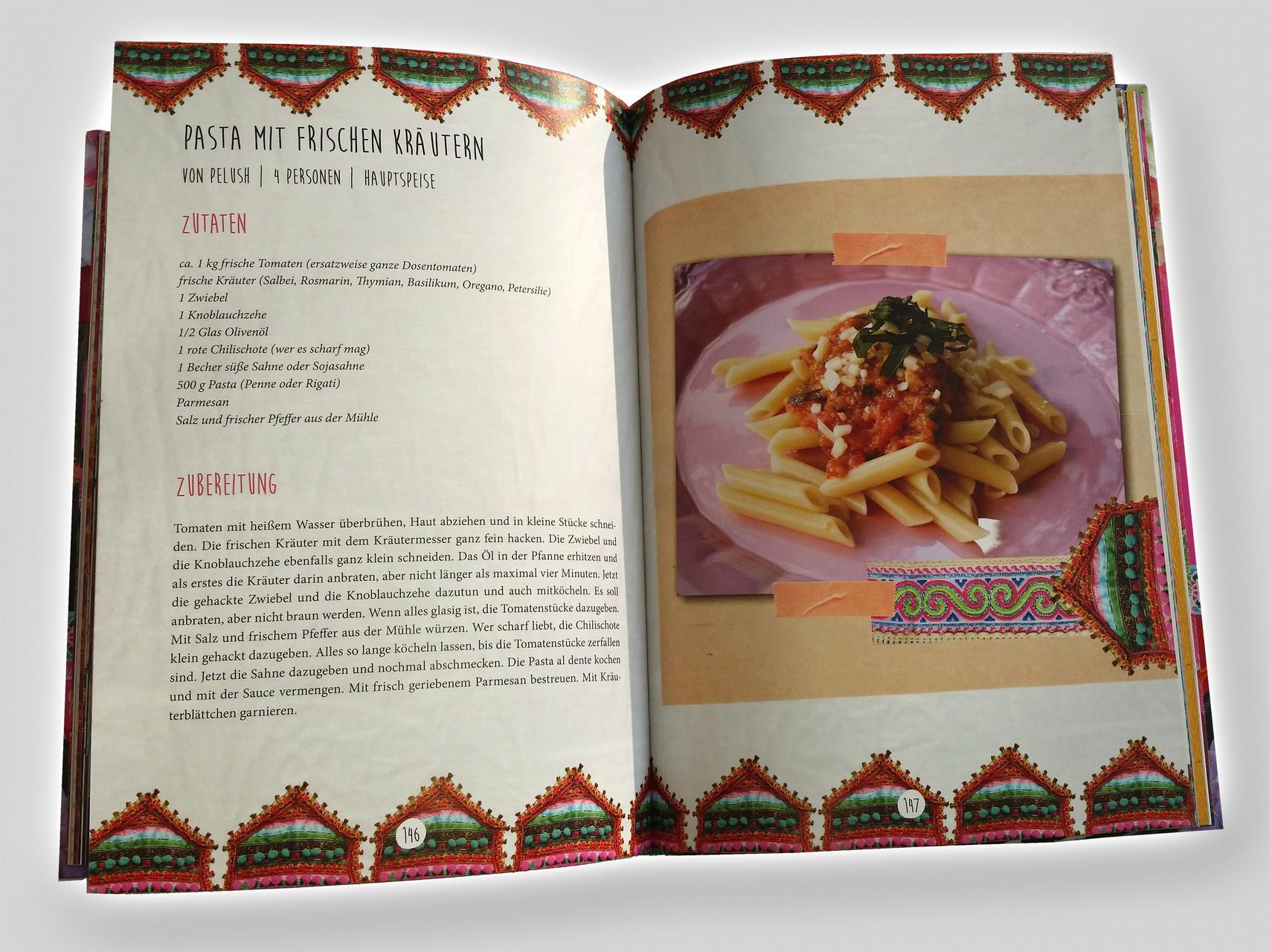 13 Happy Hippie Cooking Kochbuch Ibiza Elke Clörs Buchgestaltung Simone Ruths rosavision