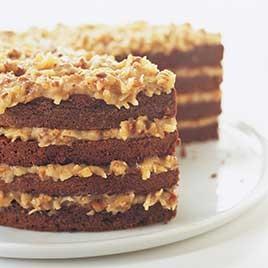 ジャーマンチョコレートケーキ