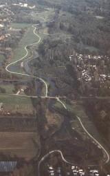 Luftaufnahme der renaturierten  Dilborner Benden