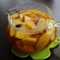 果実たっぷり人気のフルーツティー