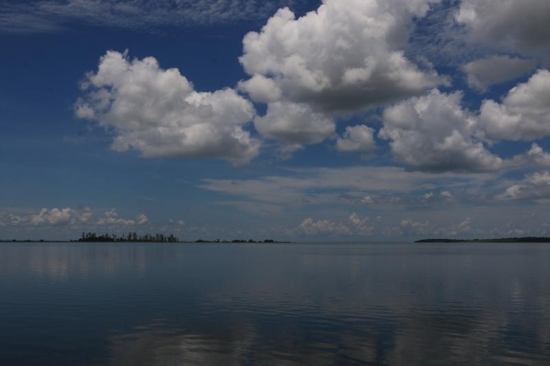 Wolkenbilder mit Seesicht