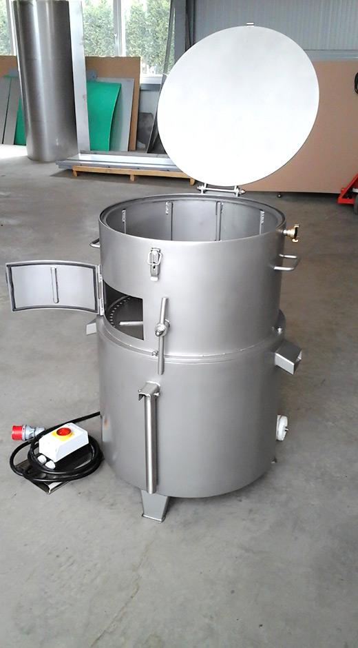 Sonderbaufrom einer Pansenreinigungsmaschine