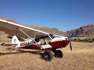 Hells Canyon in an Aviat Husky