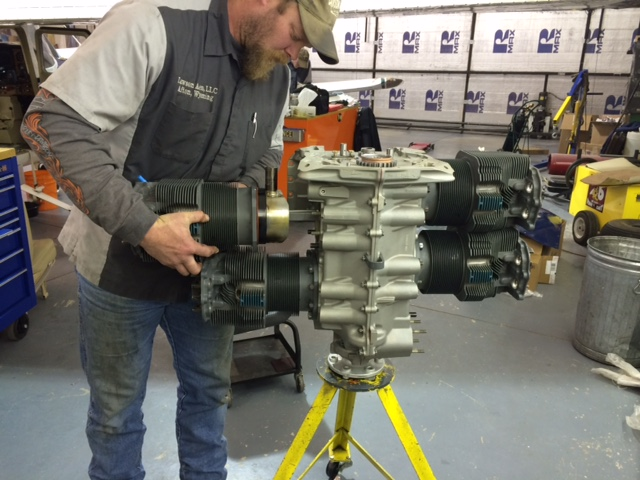 O-360-A1P Installing Cylinders after Prop Strike Inspection