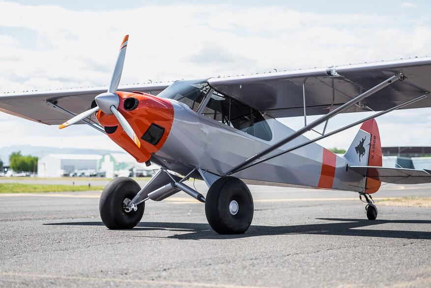 Carbon Cub first kit plane