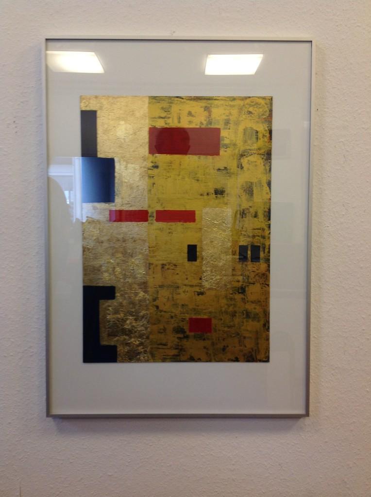 Lieselotte Radach, Acryl auf Papier, 70 x 100cm