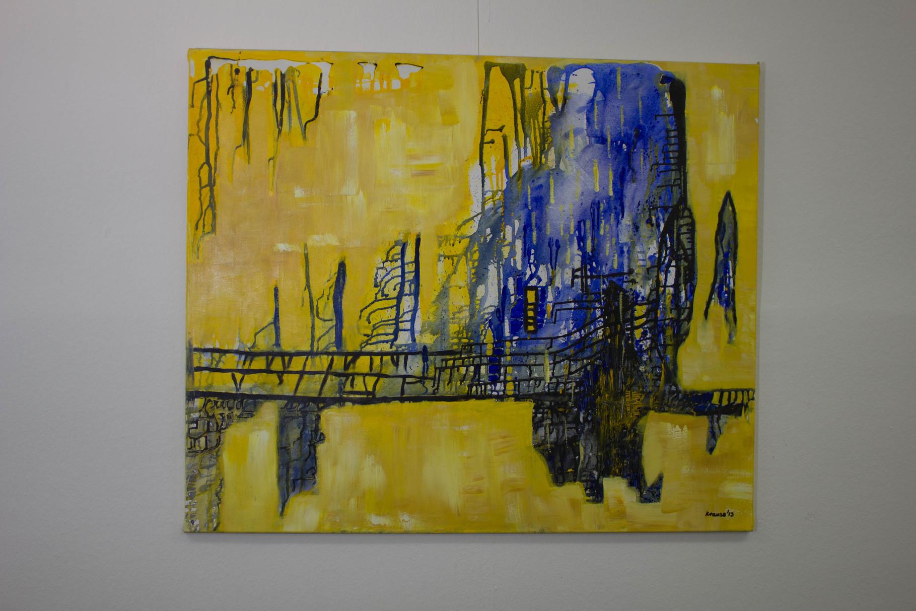 Nr. 33 Dietmar Krause, Acryl auf Leinwand