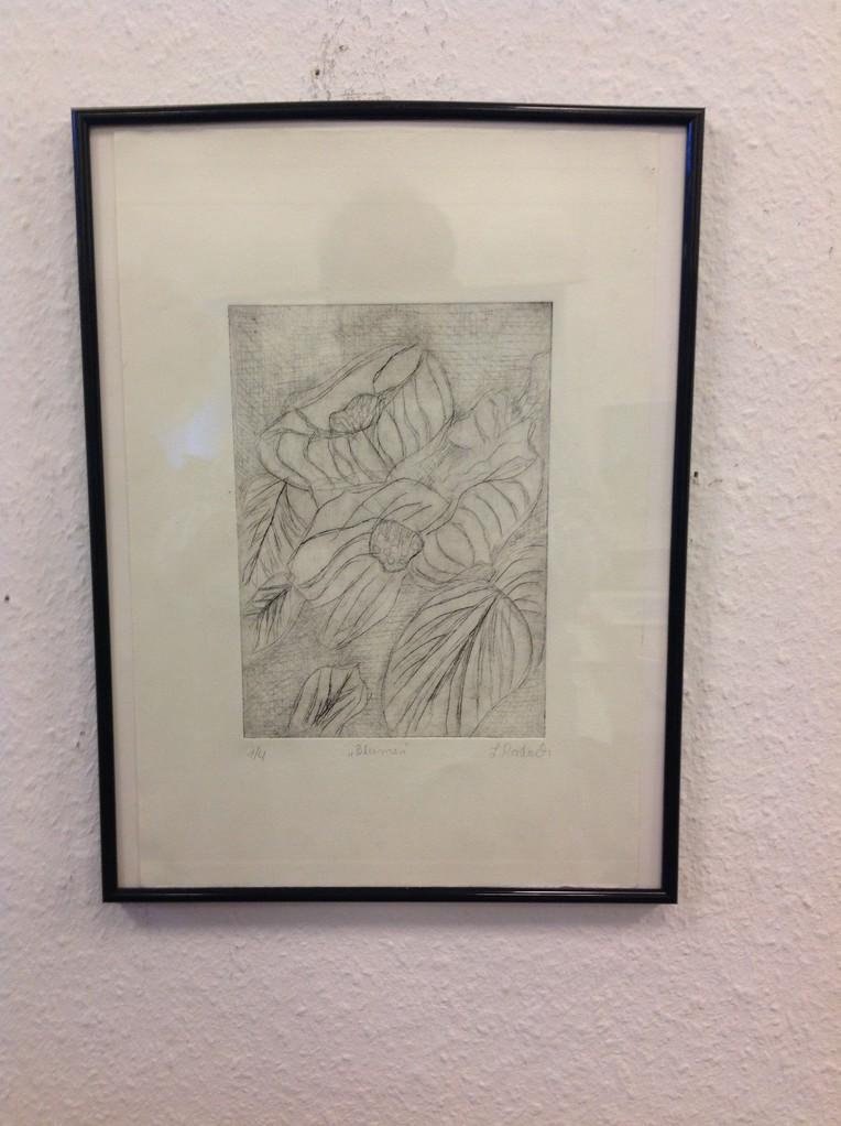 Lieselotte Radach, Kaltnadelca. 30 x 40cminkl. Rahmen