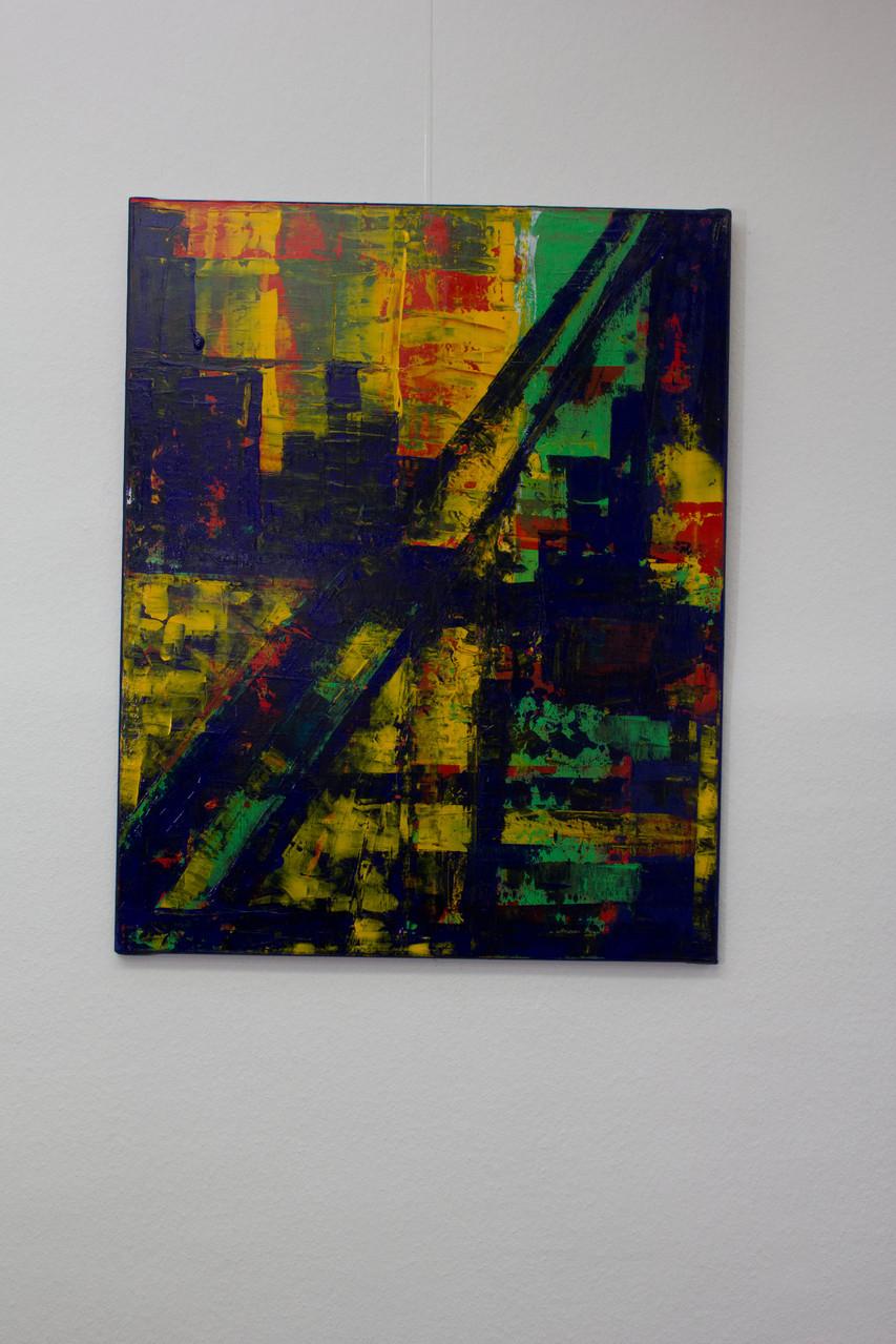Nr. 1 Lieselotte Radach, Acryl auf Leinwand