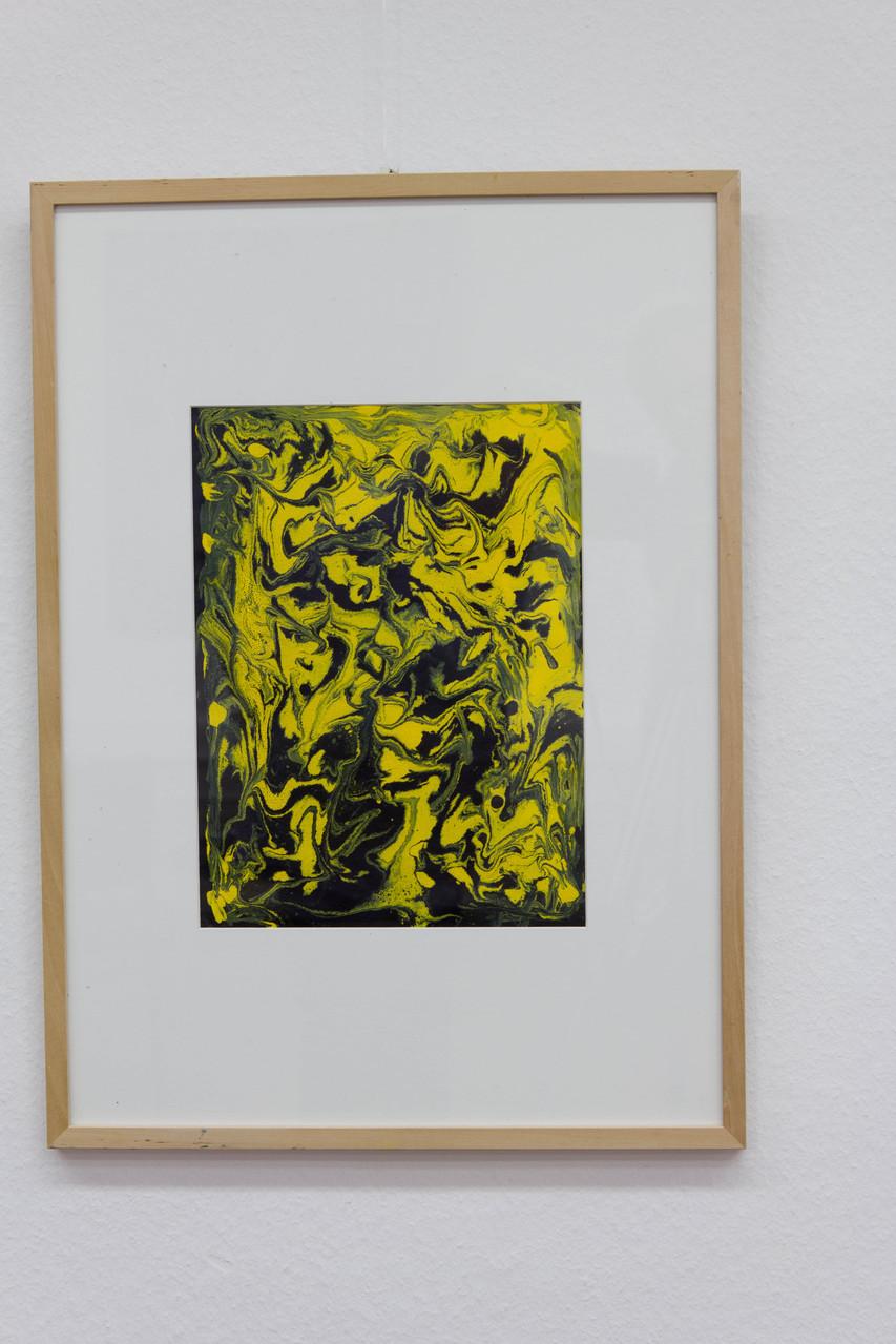 Nr. 58 Dietmar Krause Acryl auf Papier, 50 x 70cm gerahmt