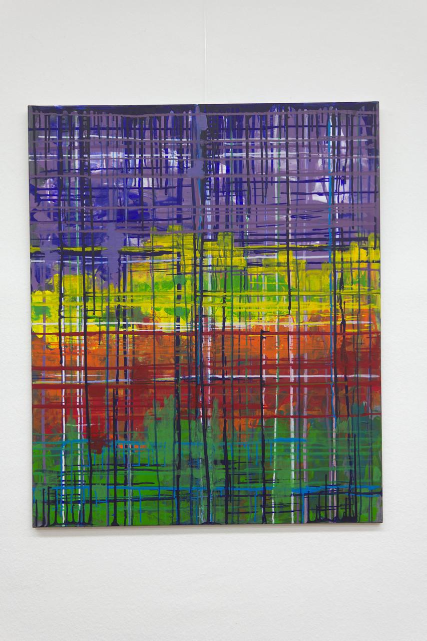 Nr. 49 Lieselotte Radach, Acryl auf Leinwand, 100 x 120cm
