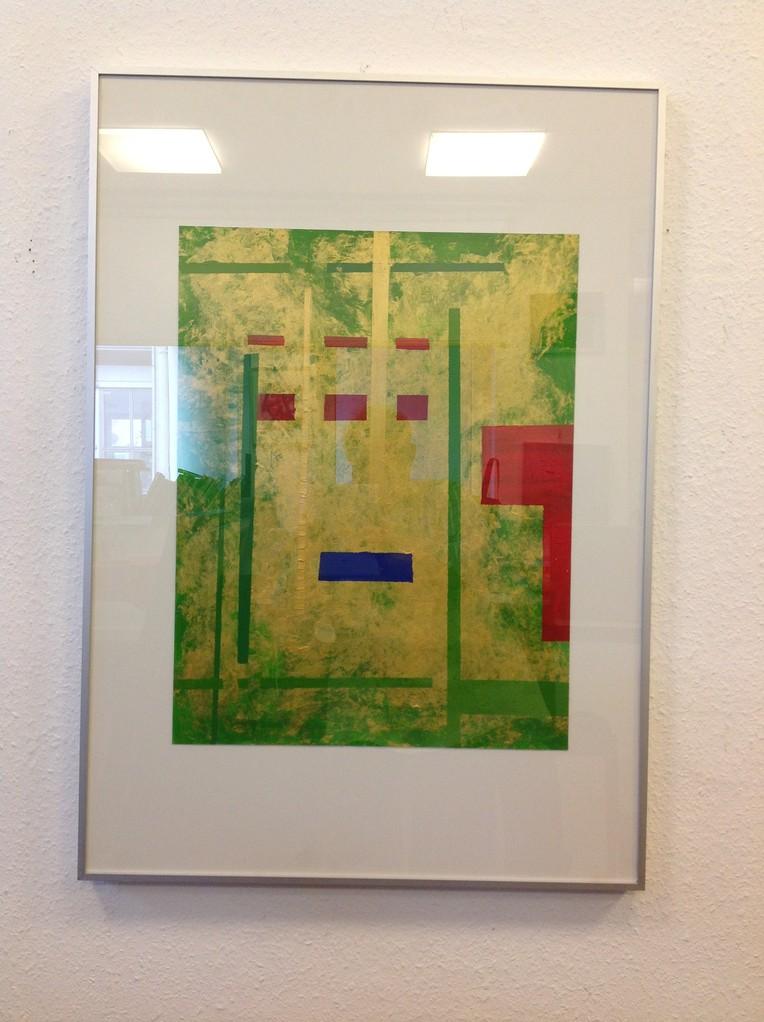 Lieselotte Radach, Acrryl auf Papier, 70 x 100cm