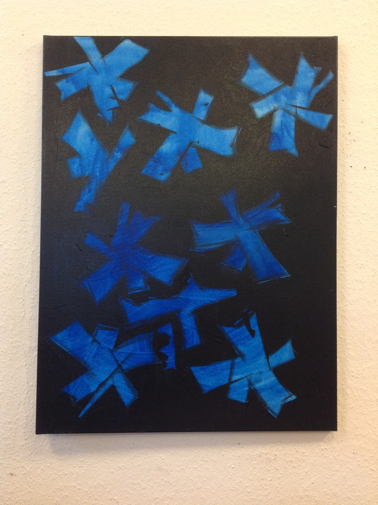 Lieselotte Radach, Acryl auf Leinwand, 60 x 80cm, verkauft