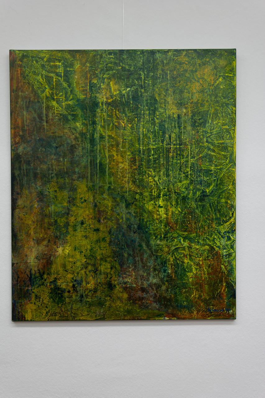 Nr. 53 Dietmar Krause, Acryl auf Leinwand, 100 x 120cm