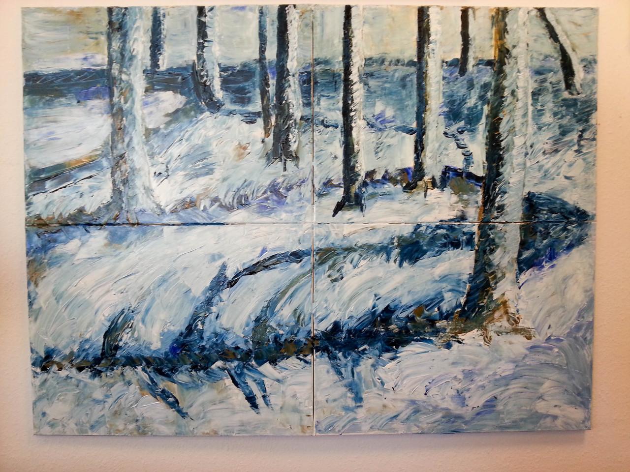 Acryl auf Leinwand, 120 x 160cm
