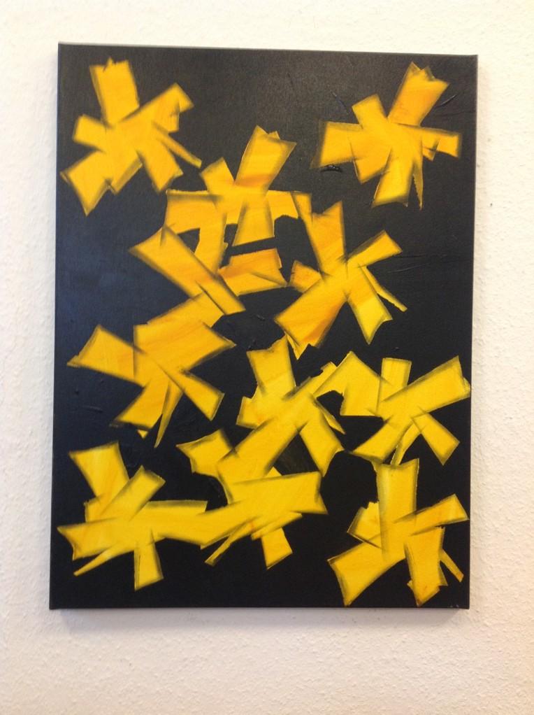 Lieselotte Radach, Acryl auf Leinwand, 60 x 80cm , verkauft