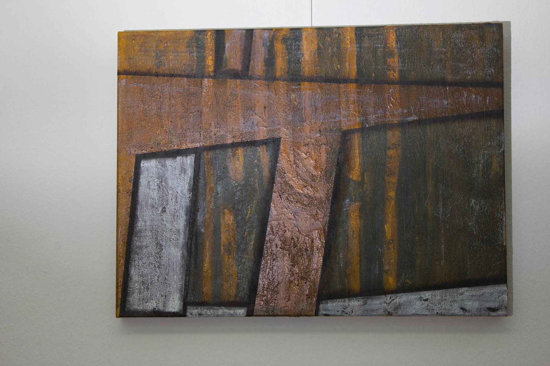 Nr. 17 Dietmar Krause, Acryl auf Leinwand
