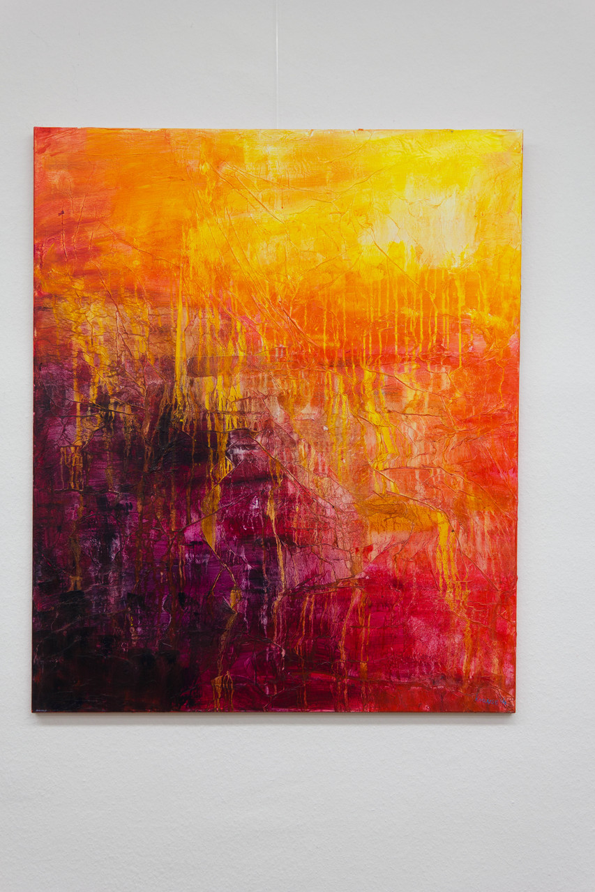Nr. 54 Dietmar Krause, Acryl auf Leinwand, 100 x 120cm
