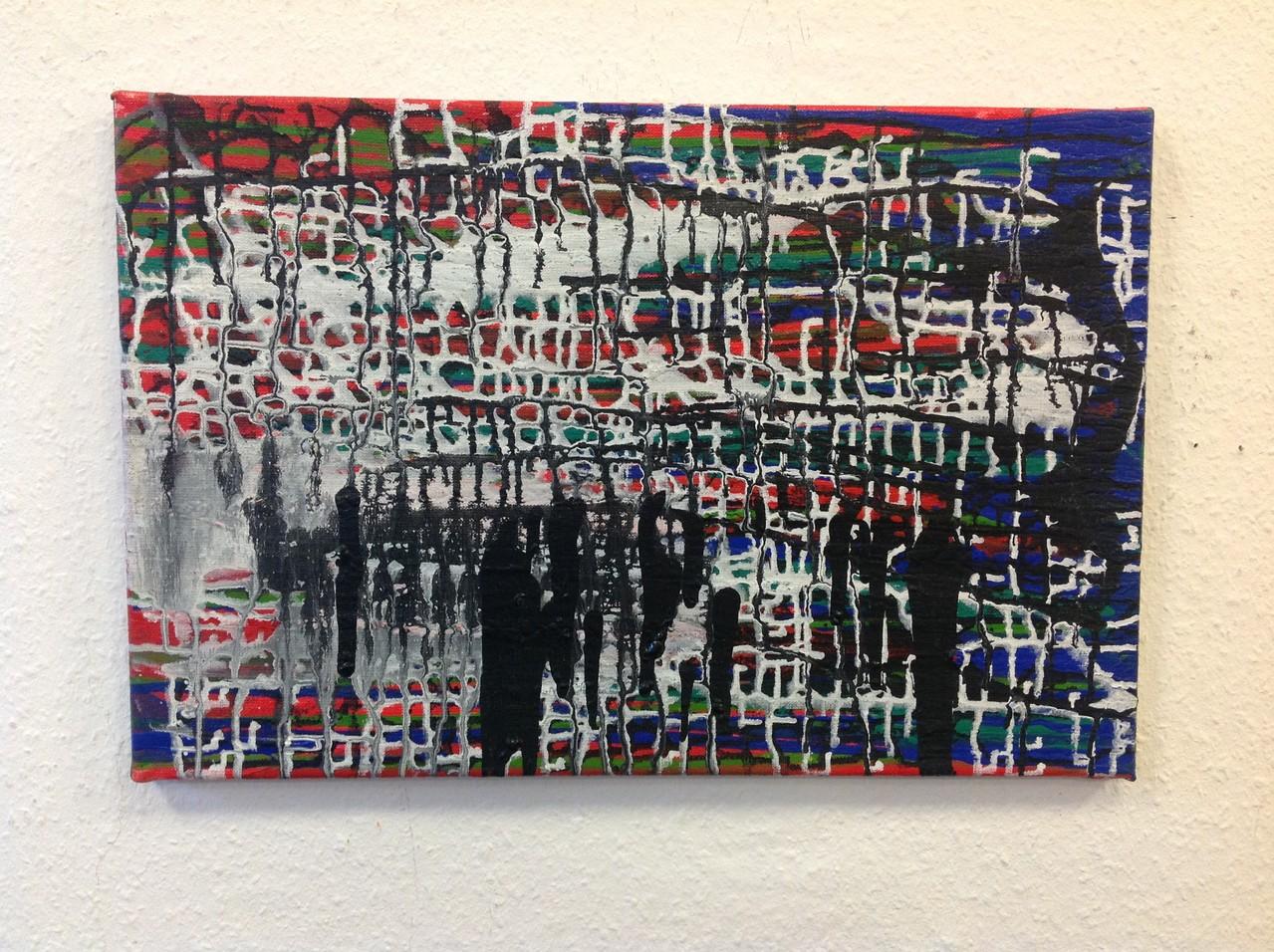 Lieselotte Radach, Acryl auf Leinwand, 30 x 40 cm