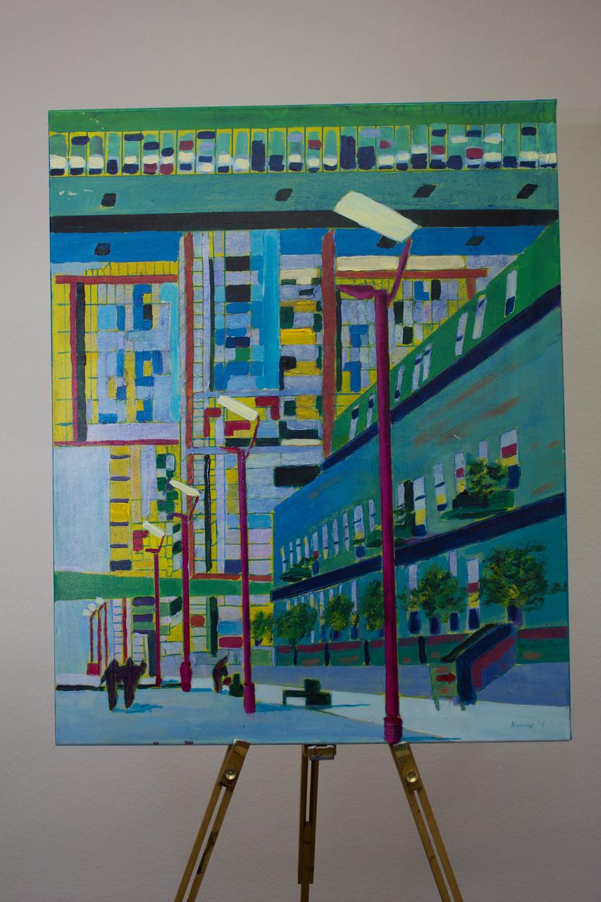 Nr. 41 Dietmar Krause, Acryl auf Leinwand, 100 x 120cm