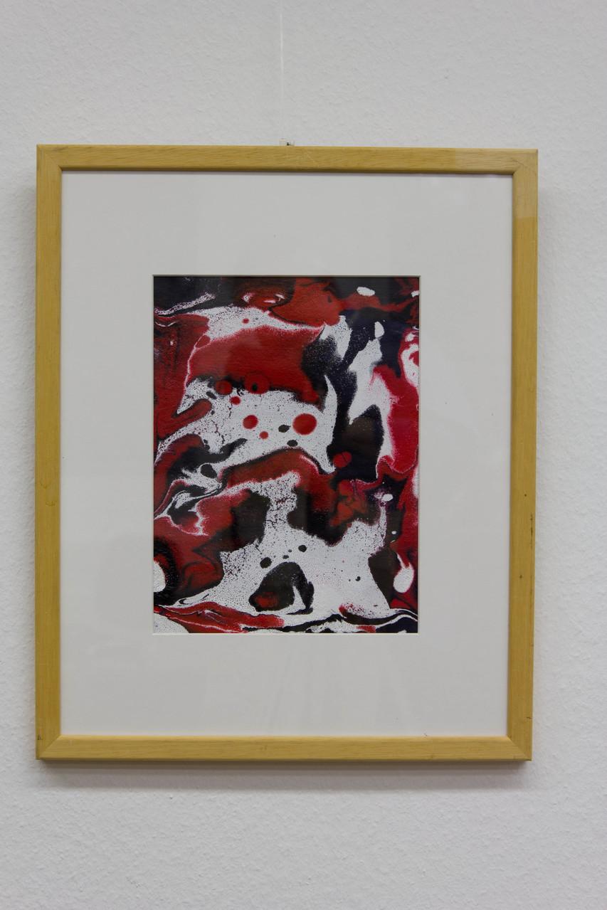 Nr. 56 Dietmar Krause, Acryl auf Papier, 50 x 70cm gerahmt