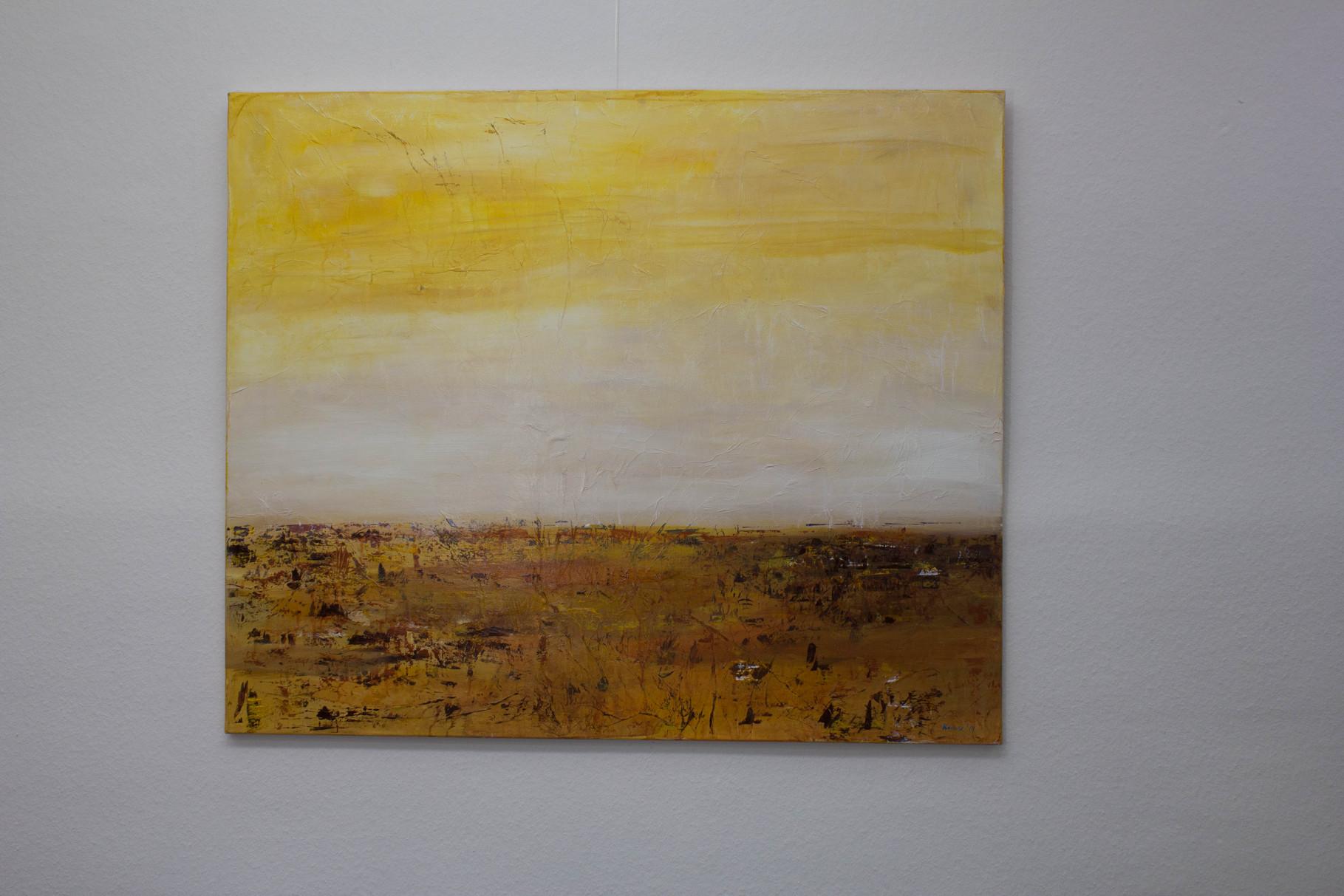 Nr. 3 Dietmar Krause, Acryl auf Leinwand, 100 x 120cm