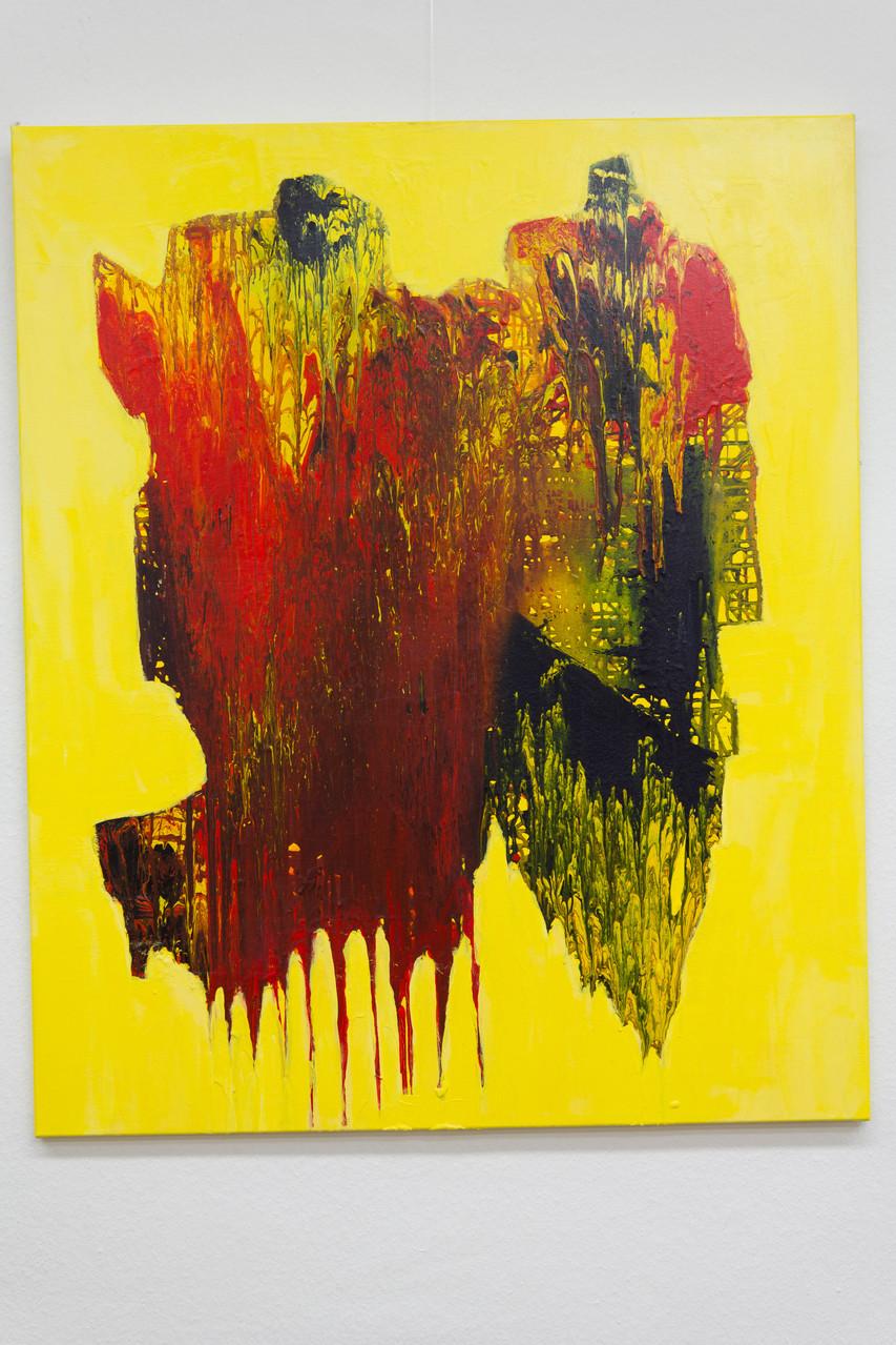 Nr. 52 Dietmar Krause, Acryl auf Leinwand, 100 x 120cm