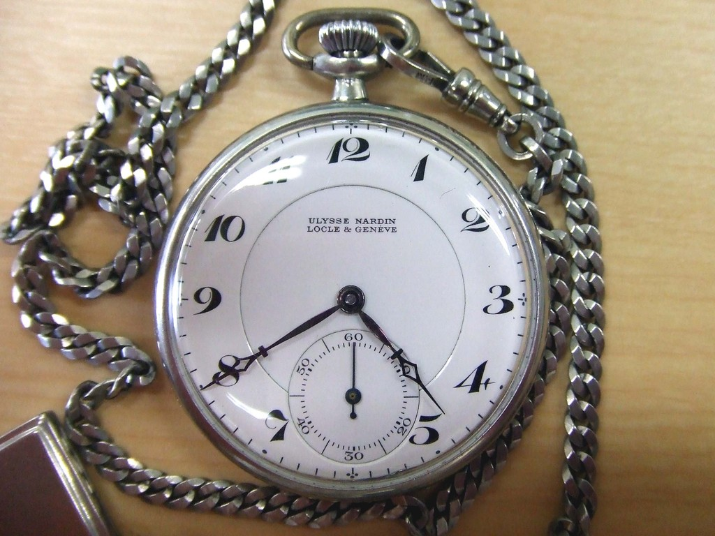 OLD POCKET WATCH (ULYSSE NARDIN)