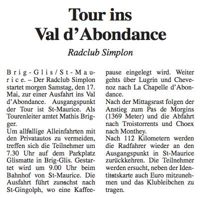 Walliser_Bote_2003_05_16_Tour_ins_Val_d'Abondance