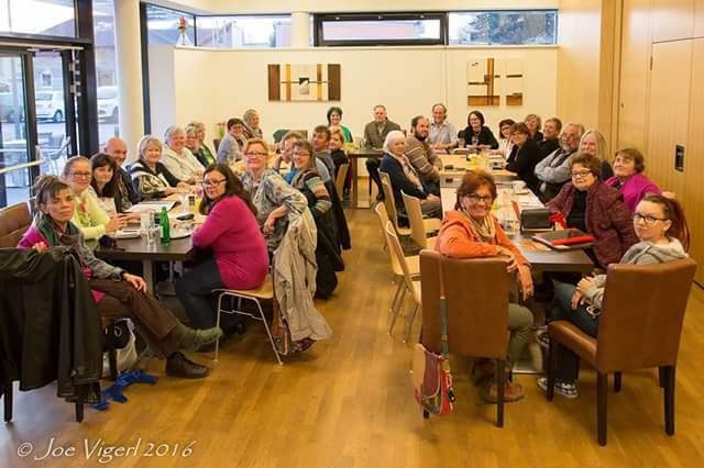 Treffen am 12.04.2016 im Amtshaus Eggendorf mit Gastvortrag von Hr. Müller