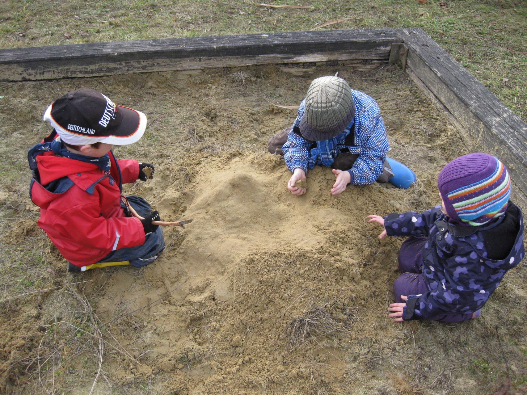 Der Sandkasten
