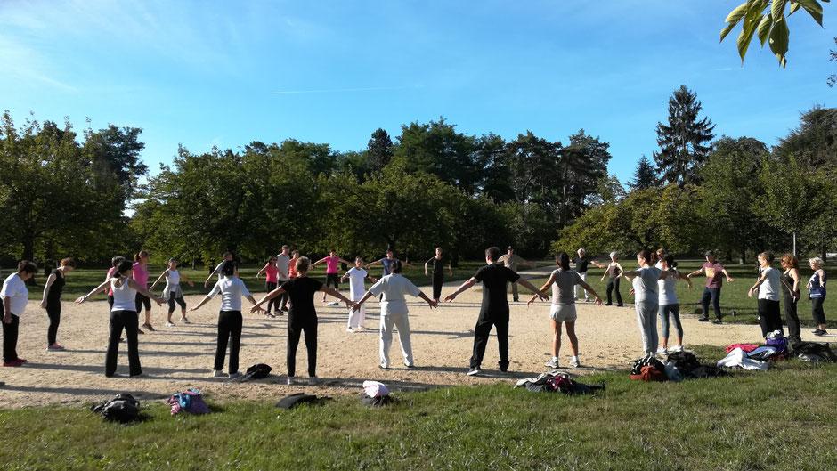 qi gong au parc de Sceaux