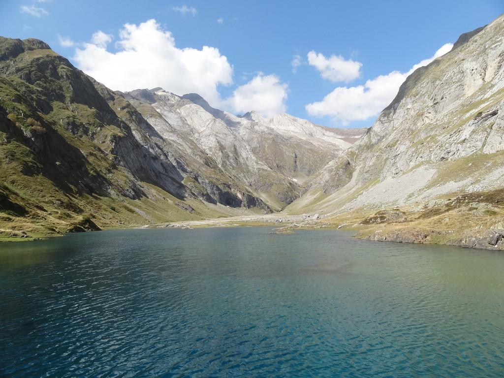 Lac-barrage d'Ossoue