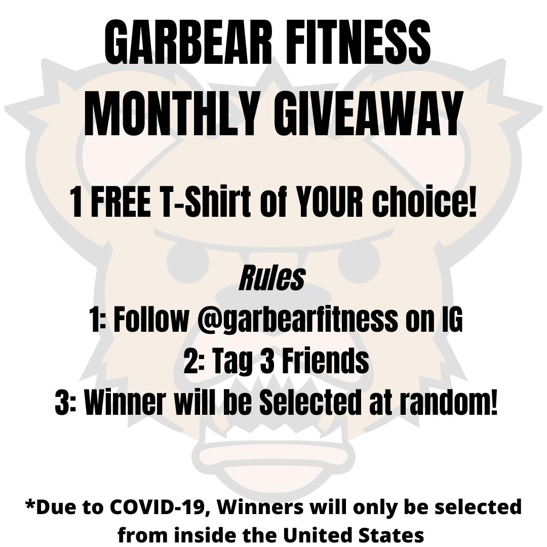 Garbear Blog #18 - FREE T-Shirt Giveaways are BACK!